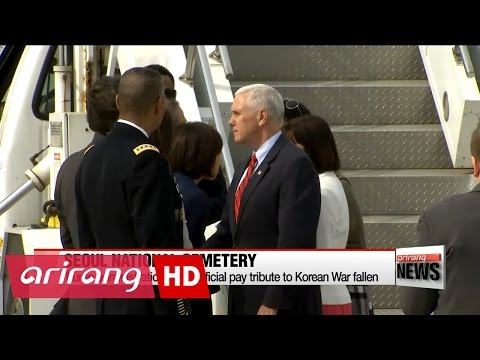 U.S. Vice President arrives in S. Korea during contentious time in N. Korea-U.S. relations