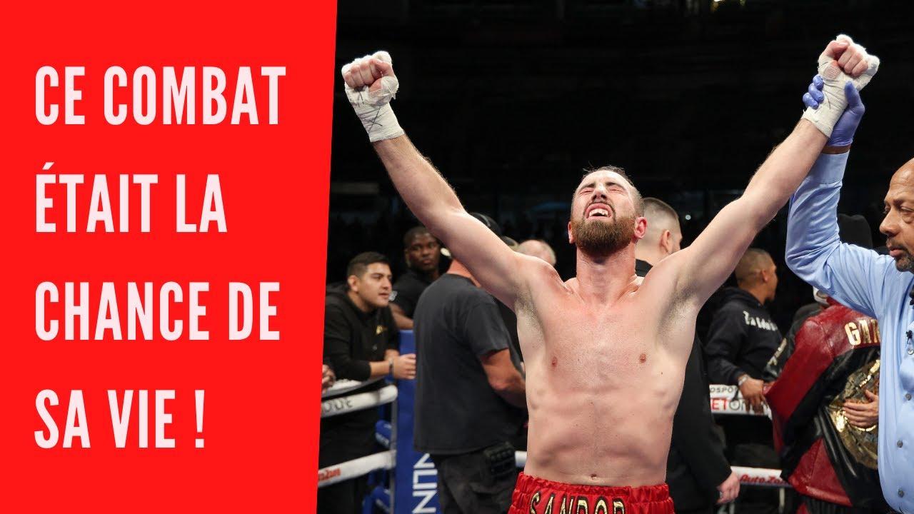 Ce boxeur a saisi l'opportunité de sa vie !