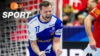 Dänemark - Island 30:31 - Highlights | Handball-EM 2020 - ZDF
