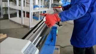 Электромеханические трехвалковые вальцы Metal Master ESR 1315 E(Электромеханические трехвалковые вальцы Подробнее тут http://tapcoint.ru/functions/f_valcy/f_jelektromehanicheskie-valcy/1222., 2013-12-05T14:22:07.000Z)
