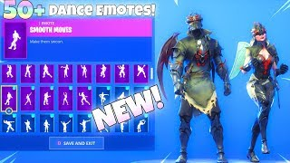NEW! BLACK KNIGHT V2 SKIN With 50+ Dance Emotes SHOWCASE! (Spider Knight) Fortnite Battle Royale