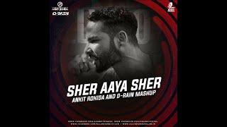 Sher Aaya Sher (Mashup)   DJ Ankit Rohida   D-Rain   Gully Boy   Ranveer Singh & Alia Bhatt   DIVINE