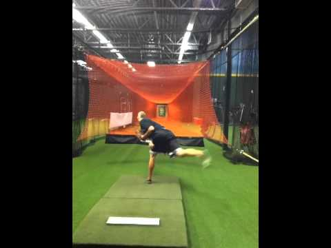Pitching Training Zinger Orange Tunnel