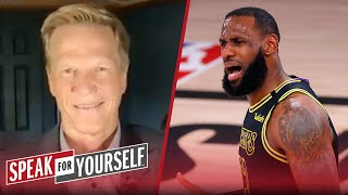 LeBron was non-factor in AD's buzzer-beater play VS Nuggets - Ric Bucher | NBA | SPEAK FOR YOURSELF