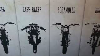 CAFE RACER,  UNIQUE CONCEPT & DINING EXPERIENCE. TRAVEL, ADVENTURE.