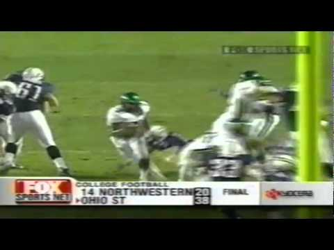 Oregon RB Onterrio Smith 56 yard run vs. Arizona 10-06-2001