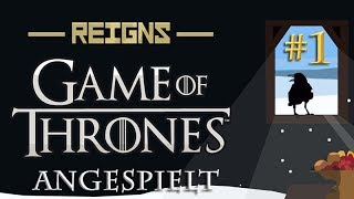 Angespielt Reigns Game of Thrones #1: Der eiserne Thron (german / deutsch / gameplay)