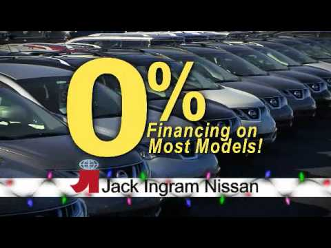 Jack Ingram Nissan >> Jack Ingram Nissan Holiday 2012 Altima Youtube