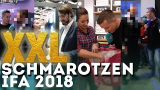 XXL-Schmarotzen auf der IFA 2018 Messe !!!