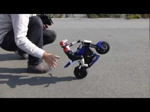 RC Bike Wheelie Device