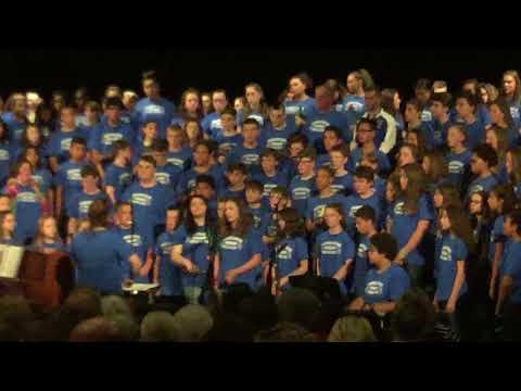 Pennichuck Middle School Chorus Combined 2018
