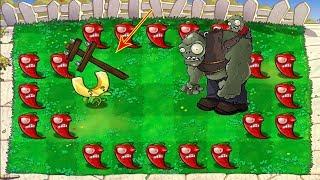 Plants vs Zombies Hack : Jalapeno vs Gargantuar