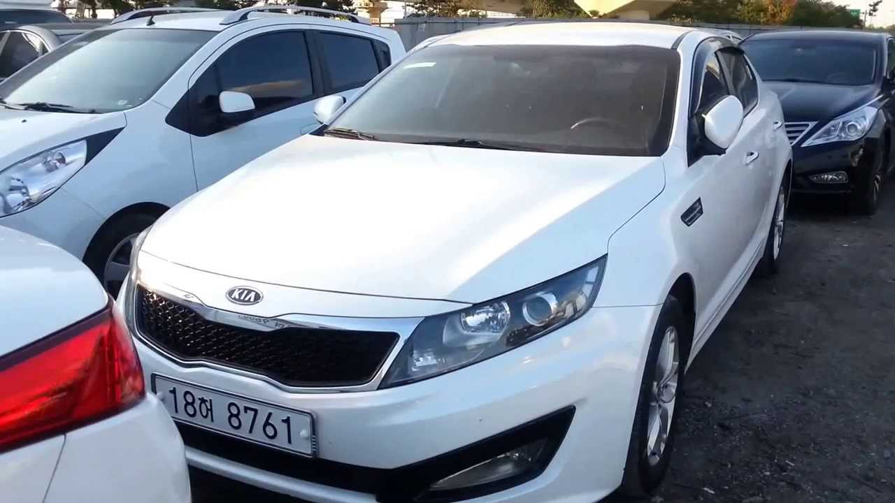 Korea used car kia k5 in iraq k5 youtube