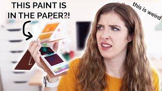 Using The WEIRDEST Art Supply I'VE EVER SEEN?!