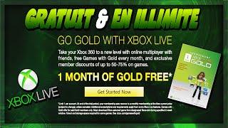 Obtenir du Xbox Live Gold - Gratuit & illimité ! - FREE 1 Month Xbox Live Gold (2015)