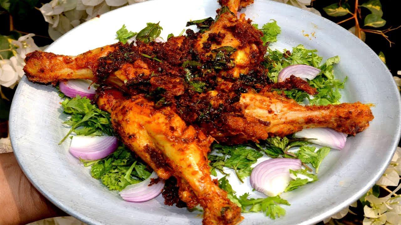 Chicken Leg Piece Fry Recipe