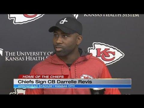 Chiefs sign 7-time Pro Bowl cornerback Darrelle Revis