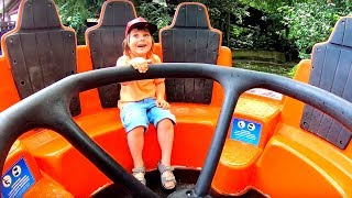 Water Ride on Boat at Amusement Park for Kids | Family Fun Day with TimKo Kid