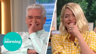 Phillip & Holly Totally Lose Control As Woman Who Sells Fart Videos Shares Her Story   This Morning