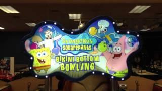 Sponge Bob Squarepants Bikini Bottom Bowling Video Game at Chuck E Cheese