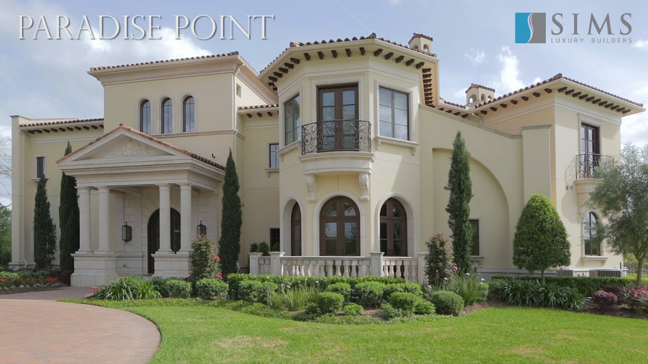 Architecture Spotlight 61 Paradise Point By Sims Luxury Builders Sugar Land Texas