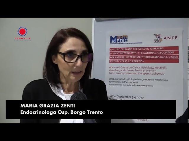 INTERVISTA A MARIA GRAZIA ZENTI. 15th LIPID CLUB - IL CONGRESSO.  20° ANNIVERSARIO ANIF
