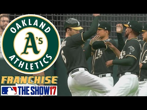 Starting the Season - MLB The Show 17 - Franchise Mode - Oakland ep. 2