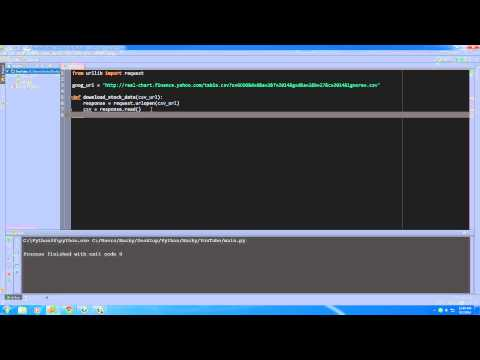 Python Programming Tutorial - 24 - Downloading Files from the Web