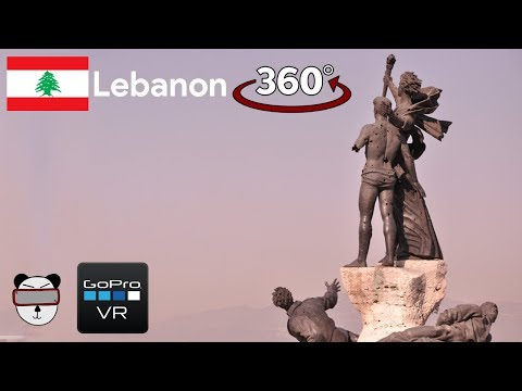 360° GoPro Omni VR: Downtown Martyrs' Square | Beirut, Lebanon