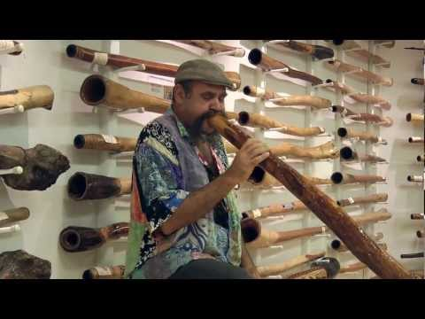Mark Atkins Didgeridoo @ Spirit Gallery