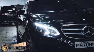 Mercedes-Benz E212 - Музыка в штатные места