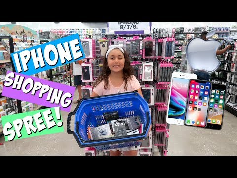 NO BUDGET iPHONE SHOPPiNG CHALLENGE!