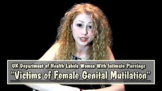 Are Female Genital Piercings FGM? UK Says YES!