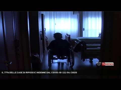 IL 77% DELLE CASE DI RIPOSO E' INDENNE DAL COVID-19 | 22/04/2020