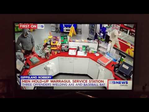 Warragul BP Armed Robbery