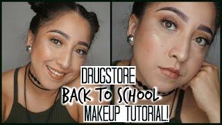 DRUGSTORE Back To School Make Up | Aimet Valdez