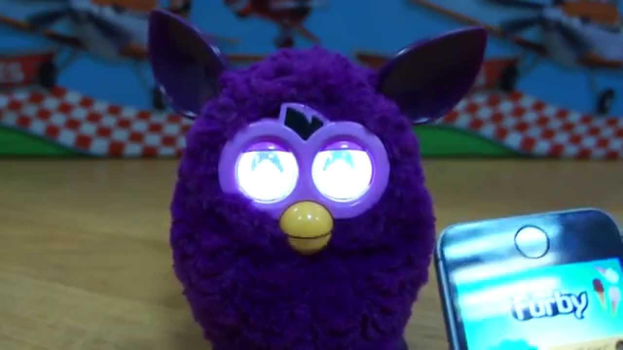 Обзор Furby Boom Кристал Розово-Фиолетовый Furby Boom Crystal .