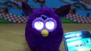 видео обзор Furby Ферби на Русском языке и обзор приложения для iPhone