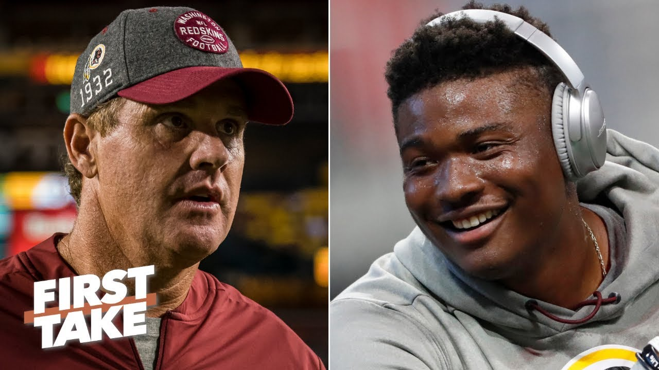 Jay Gruden will start Dwayne Haskins to save his job - Max Kellerman | First Take