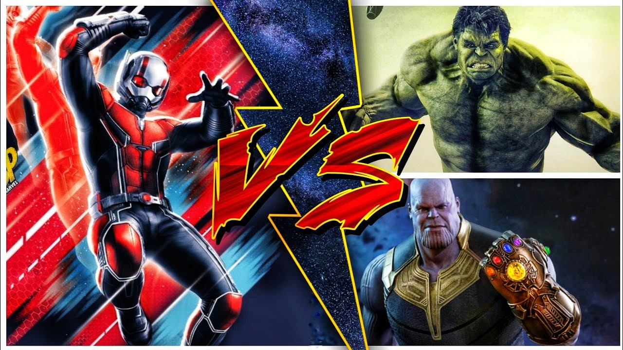 Antman Vs Hulk and Thanos (Sunday With Superbattle)