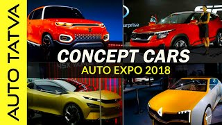 Concept Cars that are coming soon | Auto Expo 2018 | Overview | Hindi