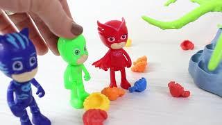 Pj Maskeliler Yarış Yapıyor Kertenkele Kedi Çocuk Çizgi Film İzle Süper Kahramanlar