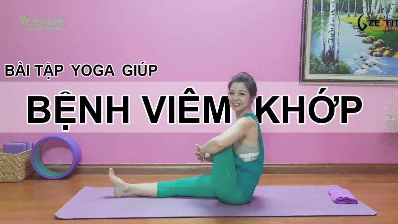 Bài tập Yoga trợ giúp chữa BỆNH VIÊM KHỚP / Nguyễn Hiếu Yoga