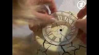 Часы из сковородки