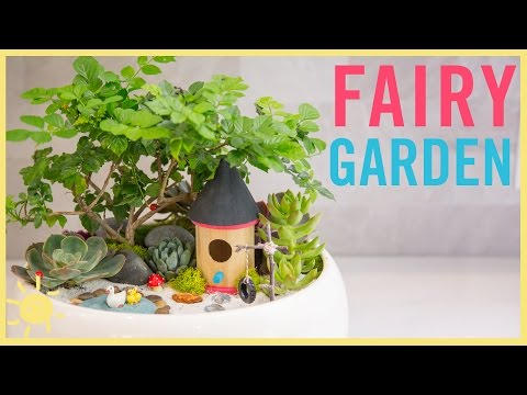 DIY | How To Make A Fairy Garden