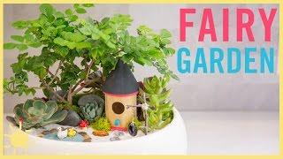 DIY   How To Make A Fairy Garden