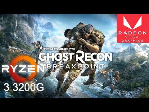Tom Clancy's Ghost Recon Breakpoint On Ryzen 3 3200G Vega 8 | Low Settings | 720p |