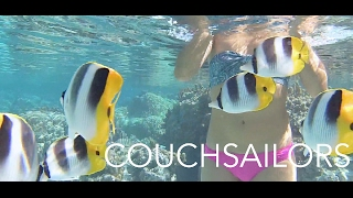 Snorkeling the Secret Coral Garden of Taha'a || COUCHSAILORS Sailing Journal #14