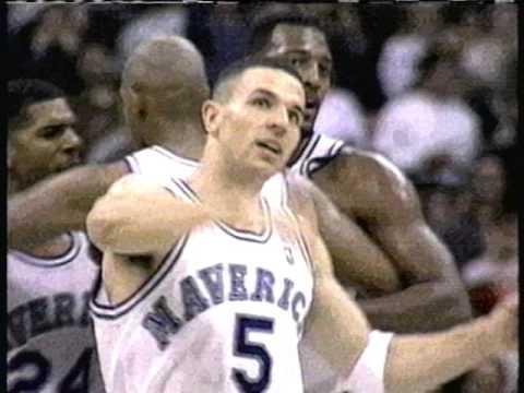 1995 NBA Rookie Game Starting Lineups (Jason Kidd, Jalen Rose, Glenn Robinson)