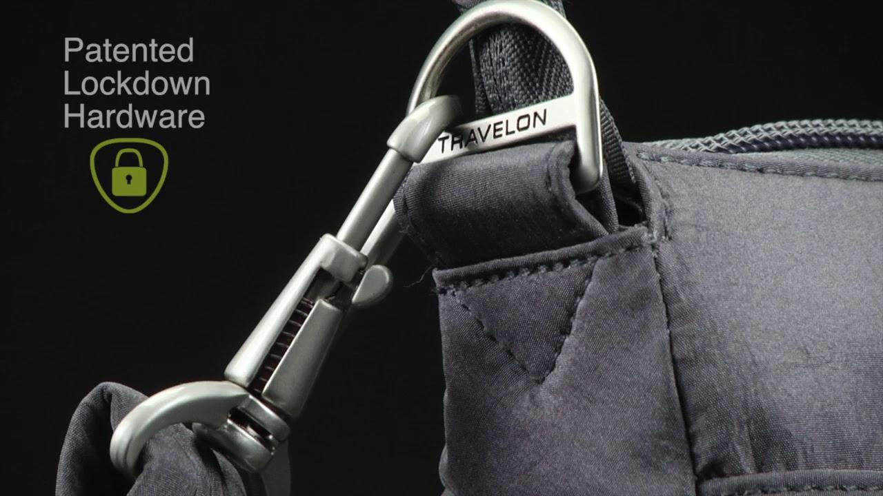 f825012cb8caab Travelon Anti-Theft Essential North/South Crossbody Bag - Exclusive ...